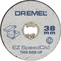 Дремел_SC456_Круги відрізні EZ SpeedClic Ø38мм, 5шт