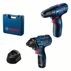 Набір акумуляторного інструменту Bosch GSR 120-LI + GDR 120-LI