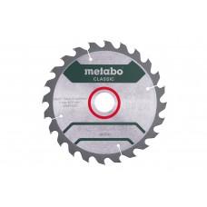 Диск пильний Metabo Classic PrecisionCut Ø190 × 30мм, 24z, WZ 15°