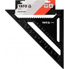 Кутник столярний Yato алюмінієвий, 300мм