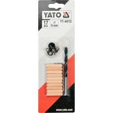Свердло Yato по дереву Ø6,0мм з набором, 17шт