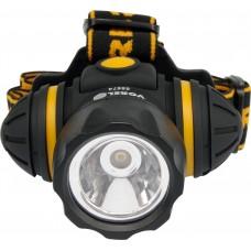Ліхтар світлодіодний на чоло Vorel 1 LED, 3 функції