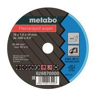 Круги відрізні Metabo Flexiarapid Superx, TF 41, Inox, Ø76×1,0×10мм, 5шт