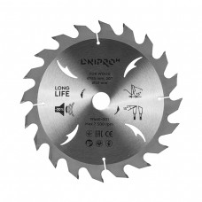 Диск пильний Дніпро-М для деревини Ø185 × 20/16мм, 20z