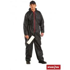 Комбінезон REIS KOM для малярних робіт, чорного кольору, розмір XL