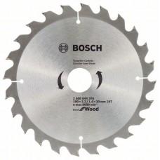 Диск пильний Bosch Eco for Wood Ø190 × 30мм 24T