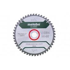 Диск пил. Metabo PrecisionCutClassic HW/CT Ø254 × 30мм, 48 WZ 5°neg