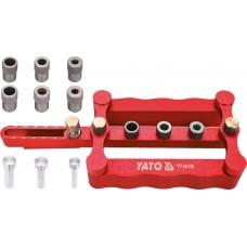 Пристрій для кілкових сполучень Yato з Ø 6, 8, 10 мм, 17- 50 мм