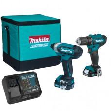 Набір акумуляторного інструменту Makita CXT 12Vmax