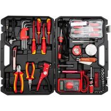 Набір інструментів Yato для електриків і електромонтажників 1000V, 68шт