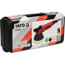 Полірувально-ексцентрикова машина Yato YT-82200, 150 мм