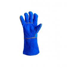 Рукавички Doloni для зварювальних робіт, сині, розмір 10