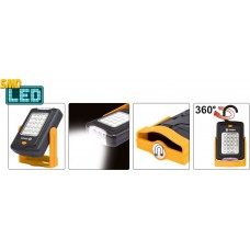 Ліхтар світлодіодний Vorel 20 + 3 LED, з магнітом