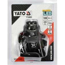 Ліхтар світлодіодний на чоло YATO CREE XM-L2